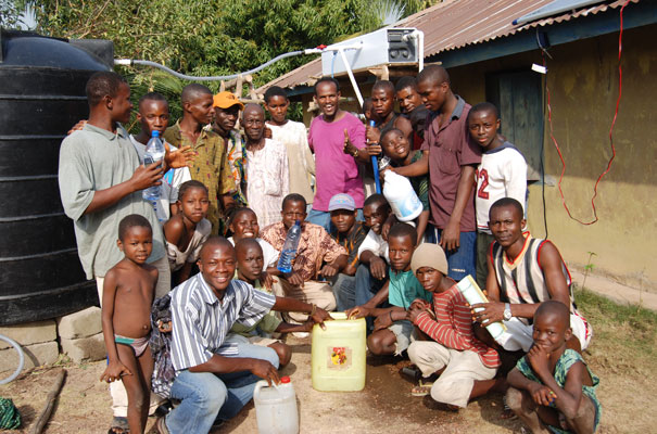 Sierra Leone Water Of Life Recipients